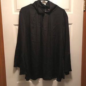 Vince Camuto Twist Neck Blouse Black Size 3X